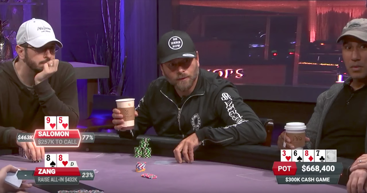 Video: Rick Salomon Takes $928K Monster Pot from Aaron Zang on 'Poker After Dark'