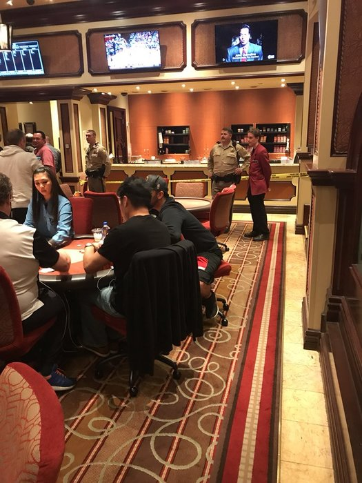 Bellagio poker room armed robbery
