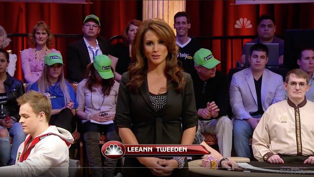 Leeann Tweeden poker hostess