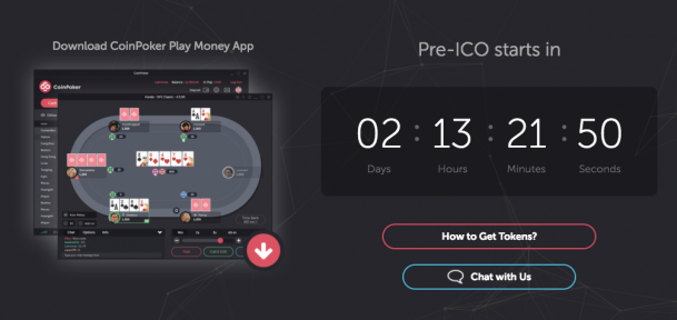 Coin Poker, ready for ICO launch
