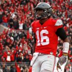 Ohio State quarterback J.T. Barrett is set to battle hated rival Michigan on Saturday as the Buckeyes continue their quest to make the 2018 College Football Playoff. (Image: Bleacher Report)
