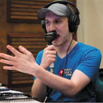 Jason Somerville heads the lineup in the first Twitch charity poker event between pros and gamers. (Image: Poker Stars)