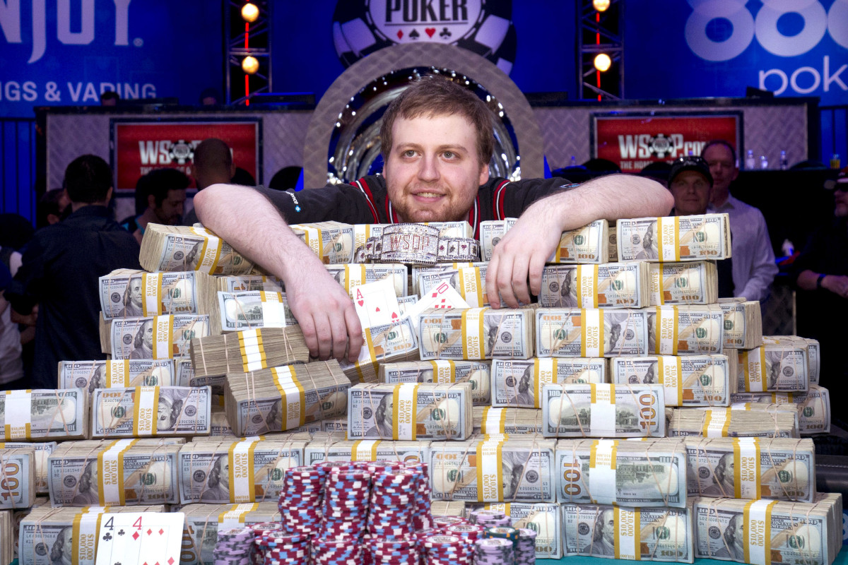 Joe McKeehen, 2015 WSOP champion and now a poker coach