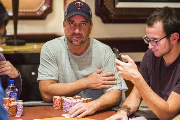 Blake Bohn Bellagio WPT Poker Classic chip leader