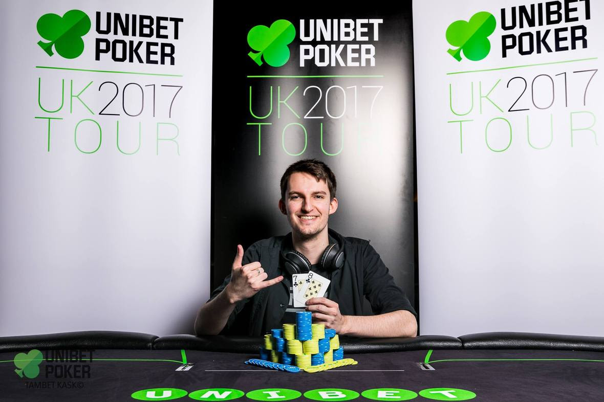 Local Manchester Student Michael Gilbert Wins Unibet UK Poker Tour to Wrap Up 2017 Season
