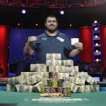 The 2017 World Series of Poker champion, Scott Blumstein, can begin his title defense on July 2, when the 2018 Main Event kicks off at the Rio in Las Vegas. (Image: John Locher/AP)