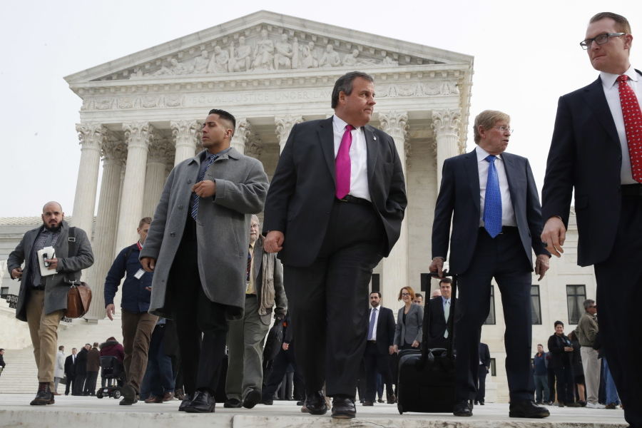 Chris Christie at the US Supreme Court