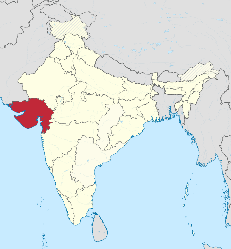 Indian state of Gujarat