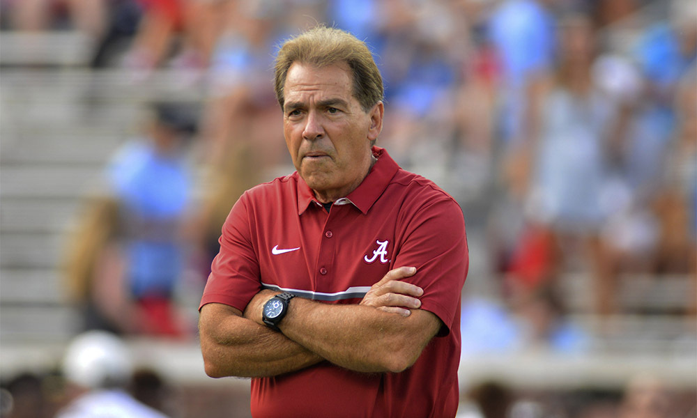 Nick Saban, Univ. of Alabama