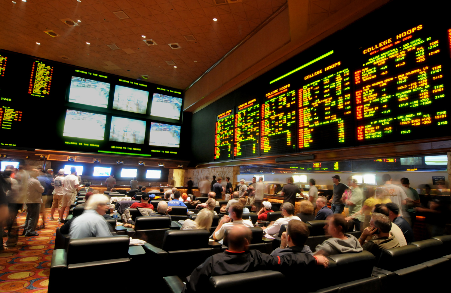 Las Vegas Race and Sports Book at the Mirage
