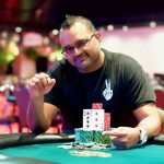 Kammar Andries works at a children's hospital in Orlando, but now the father or two young daughters finds himself as a World Series of Poker Circuit champion. (Image: WSOP)