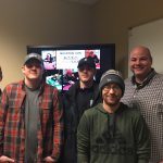 (Left to Right) Alastair Armstrong, Kyle Collins, Austin Thibaudeau, Bill Pandolph, and Justin Cole. (Image: UCCS Mountain Lion Poker Club)
