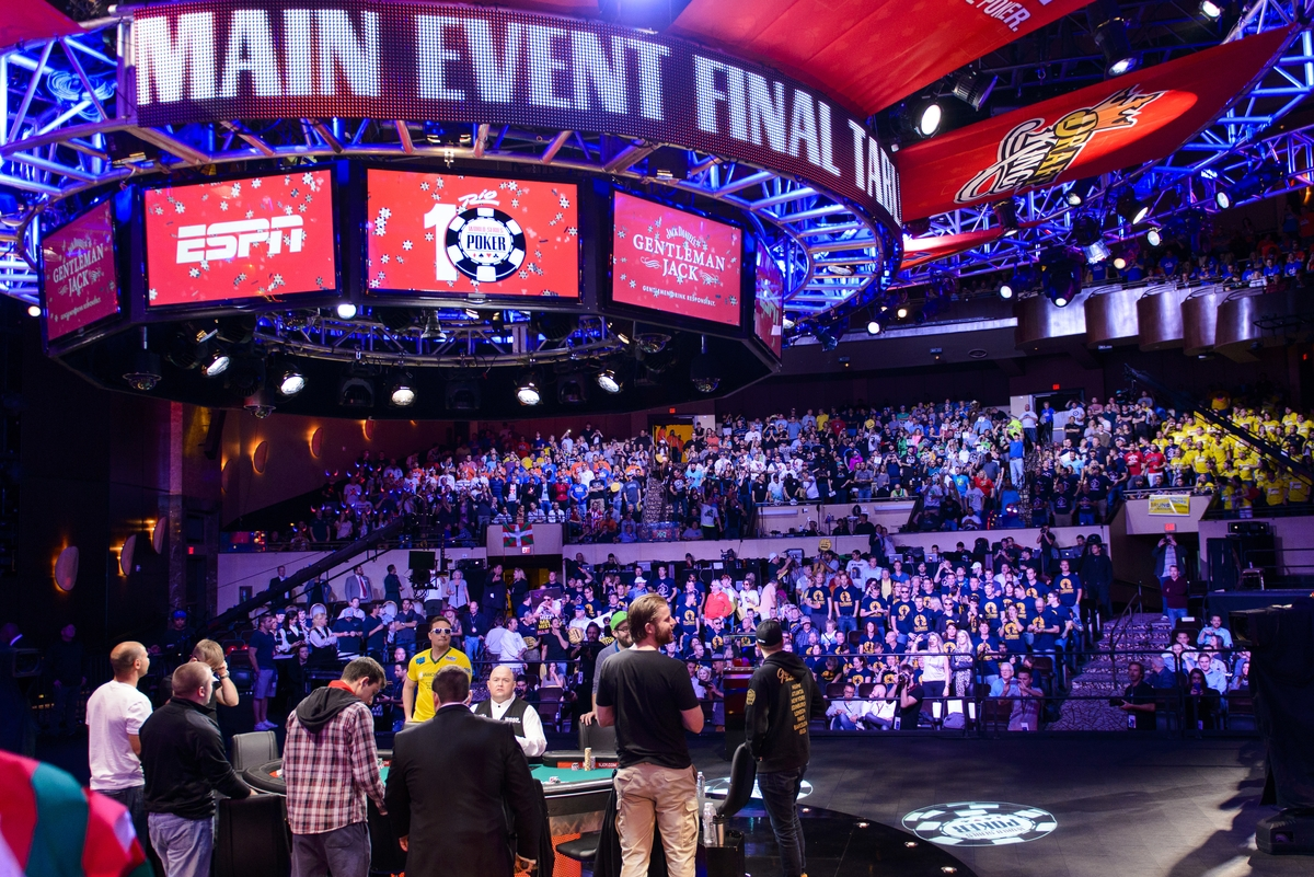 Buy In For Wsop Main Event