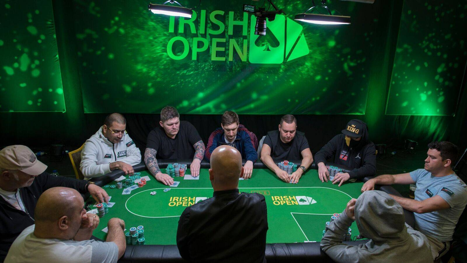 Ryan Mandara Irish Poker Open.