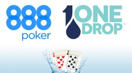 888poker and One Drop Join Forces to Host World Water Day Online Tourney Thursday