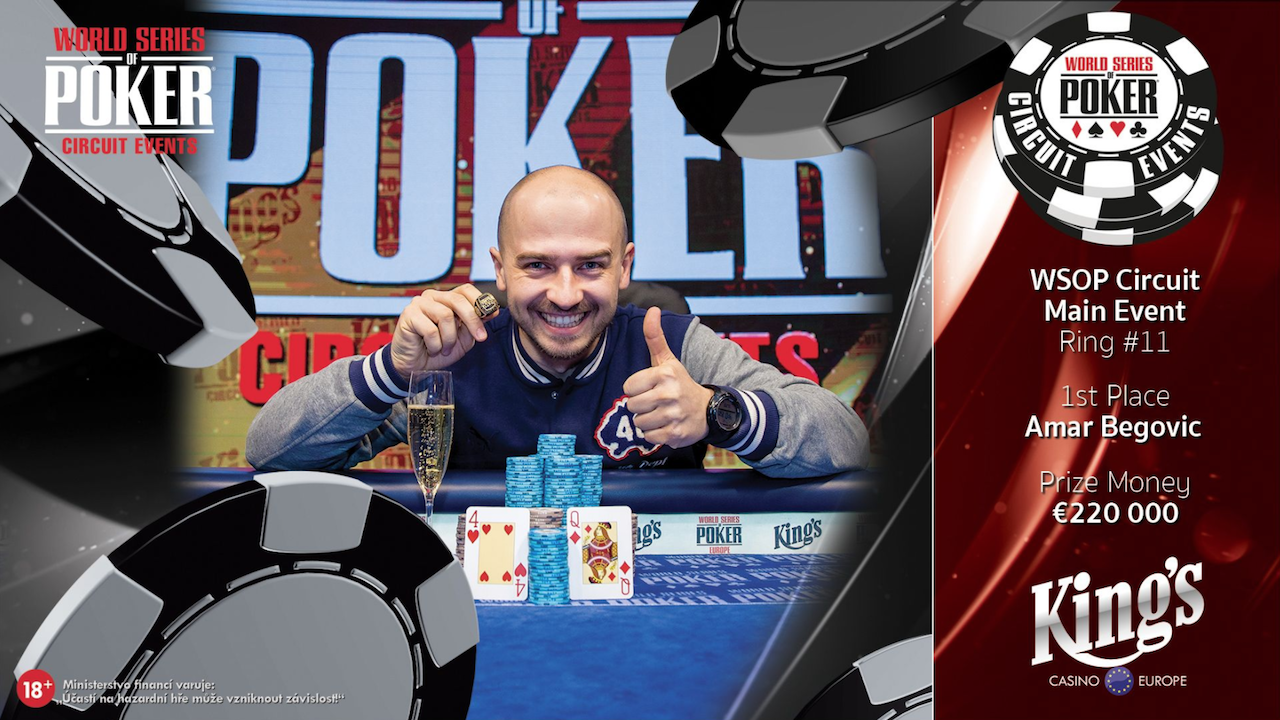Amar Begovic Wins WSOPC Rozvadov for $272K, Moves into Third on Bosnia & Herzegovina All-Time Money List