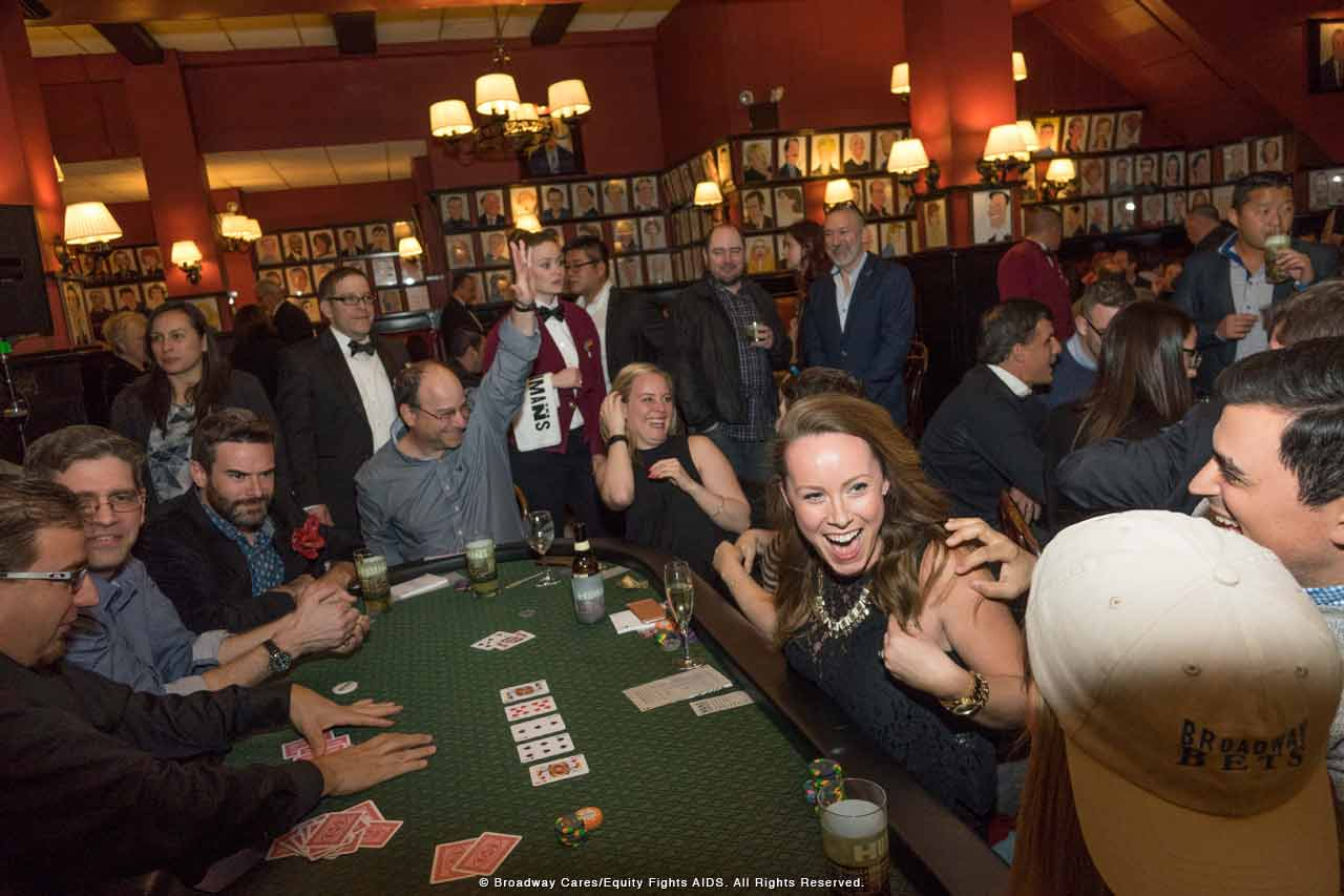 Broadway Bets poker tournament