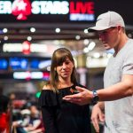 Move over Liv Boeree and Igor Kurganov! There's a new poker power couple in Team partypoker's Kristen Bicknell and the red-hot Alex Foxen. (Image: PokerStars)