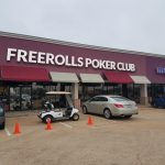 Houston's FreeRolls Poker Club, which will have its grand opening April 9-14, also offers a lounge with free pool, chess, and 70-inch televisions to catch sporting events. (Image: FreeRolls Poker Club)