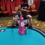 Soheb Porbandarwala's first ring came back in 2016 when he won the WSOPC Foxwoods Event #2: $580 NLHE Re-Entry at his home casino for $124,456. (Image: WSOP)