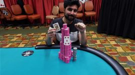 Soheb Porbandarwala Wins WSOPC Harrahs Atlantic City for $108K, Min Wang Dominates on Points