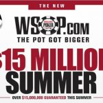 WSOP.com seems to be getting excited about its new shared liquidity era, and is offering some juiced up prize pools this summer for recently reunified online players in Nevada, Delaware, and New Jersey. (Image: WSOP)