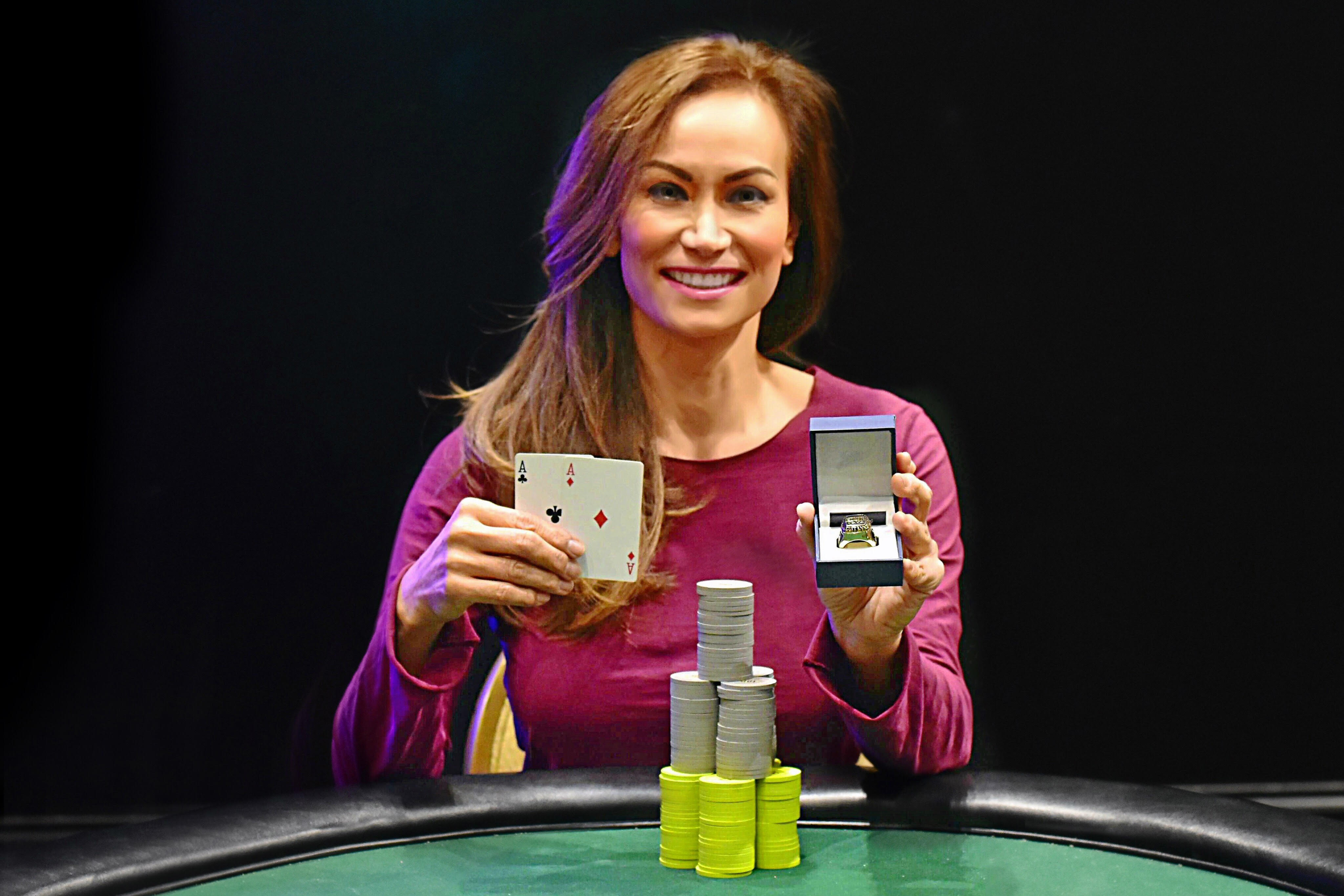 Poker woman news roulette doritos where to buy