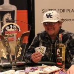 Rick Burleson works six days a week as a car salesman and has a one-and-a-half-year-old boy at home with my wife, so he doesn't get to play poker as often as he'd like. He made his latest outing count. (Image: MSPT)