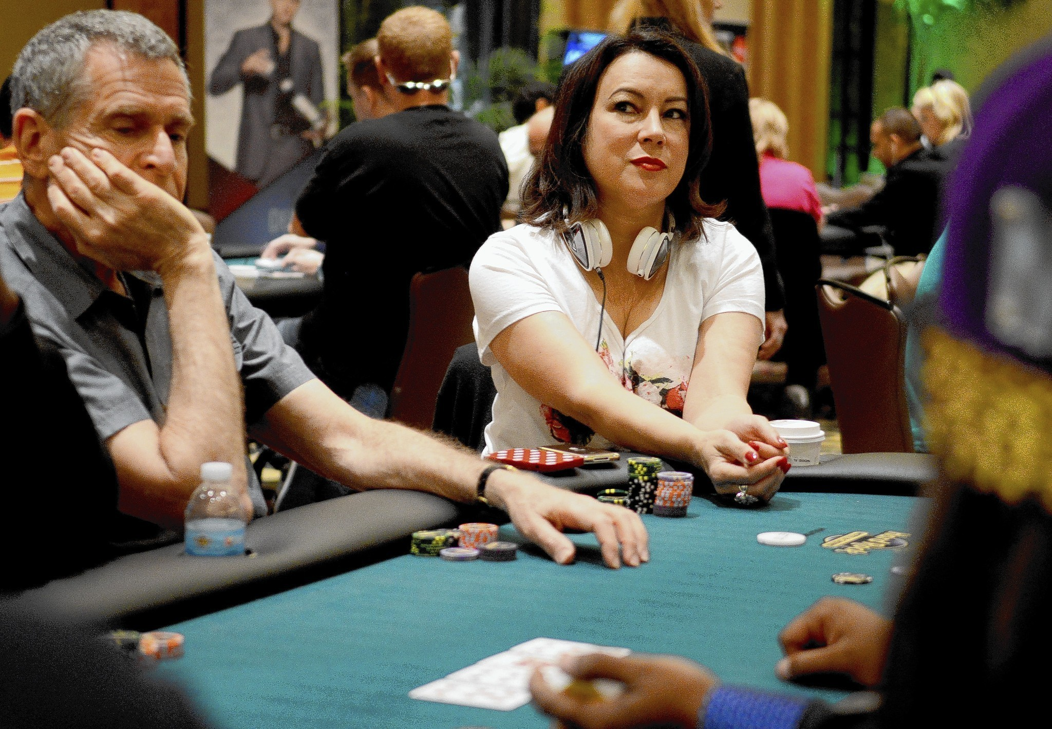 Jennifer Tilly at Seminole Hard Rock