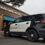 Two men were arrested in connection to an April 30 robbery and shooting outside the Texas Card House in Austin. (Image: kxan.com)