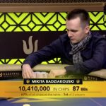 Mikita Badziakouski, a pro from Belarus, scooped the Triton Super High Roller Series Main Event for $2.5 million. (Image: Twitter)