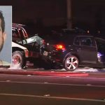 Florida poker pro Bradley Ruben has been charged with leaving the scene of an accident after crashing into and killing a man attempting to help his wife who had been involved in an earlier accident. (Image: NBC Miami)