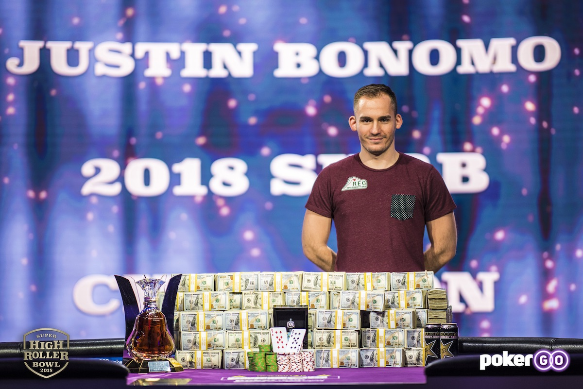 Justin Bonomo, Super High Roller Bowl