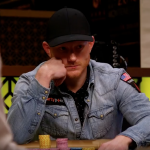 "Jason Koon heads-up in the Montenegro ""short deck"" event, a few cards away from winning $3.6 million. (Image: YouTube/Triton Poker)"