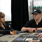 Alex Foxen outlasted his girlfriend Kristen Bicknell, the runner-up, to win the MSPT Venetian Main Event in Las Vegas for $239,000. (Image: MSPT)