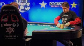 WSOP 2018 $1,500 Stud Showdown: Anti-Royalty Music Titan Steve Albini Beats Down Poker Royalty Ferguson and Lisandro