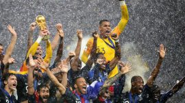 France Beats Croatia 4-2 to Earn Second World Cup Title in 20 Years