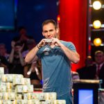Justin Bonomo has the single-year record for most tournament earnings but still trails Stephen Chidwick in the 2018 GPI Player of the Year standings. (Image: wsop.com)