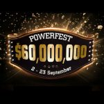Partypoker is hosting a $60 million guaranteed Powerfest online poker series from Sept 2-23. (Image: Twitter)