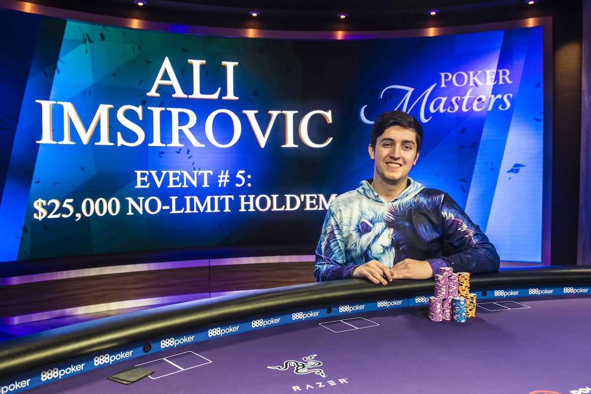 High Stakes Newbie Ali Imsirovic Wins Poker Masters $25K