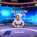 Poker Masters $25K Event #2 Goes to Brandon Adams for $400K, Takes Overall Series Lead