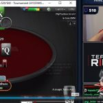 Arlie Shaban hits a winning straight against Lex Veldhuis to win the first of his 12 Labours challenges. (Image: Twitch/PokerStars)