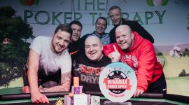 Winamax Pressing into Live Poker with Record-Setting Dublin Event, Karol Wojciechowski Wins $104K