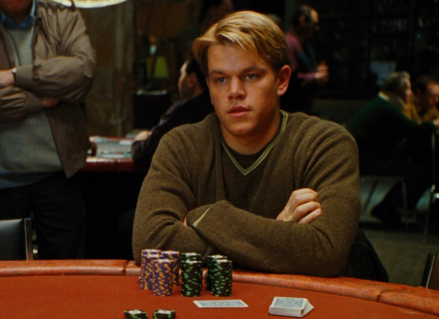 Matt Damon Rounders Poker