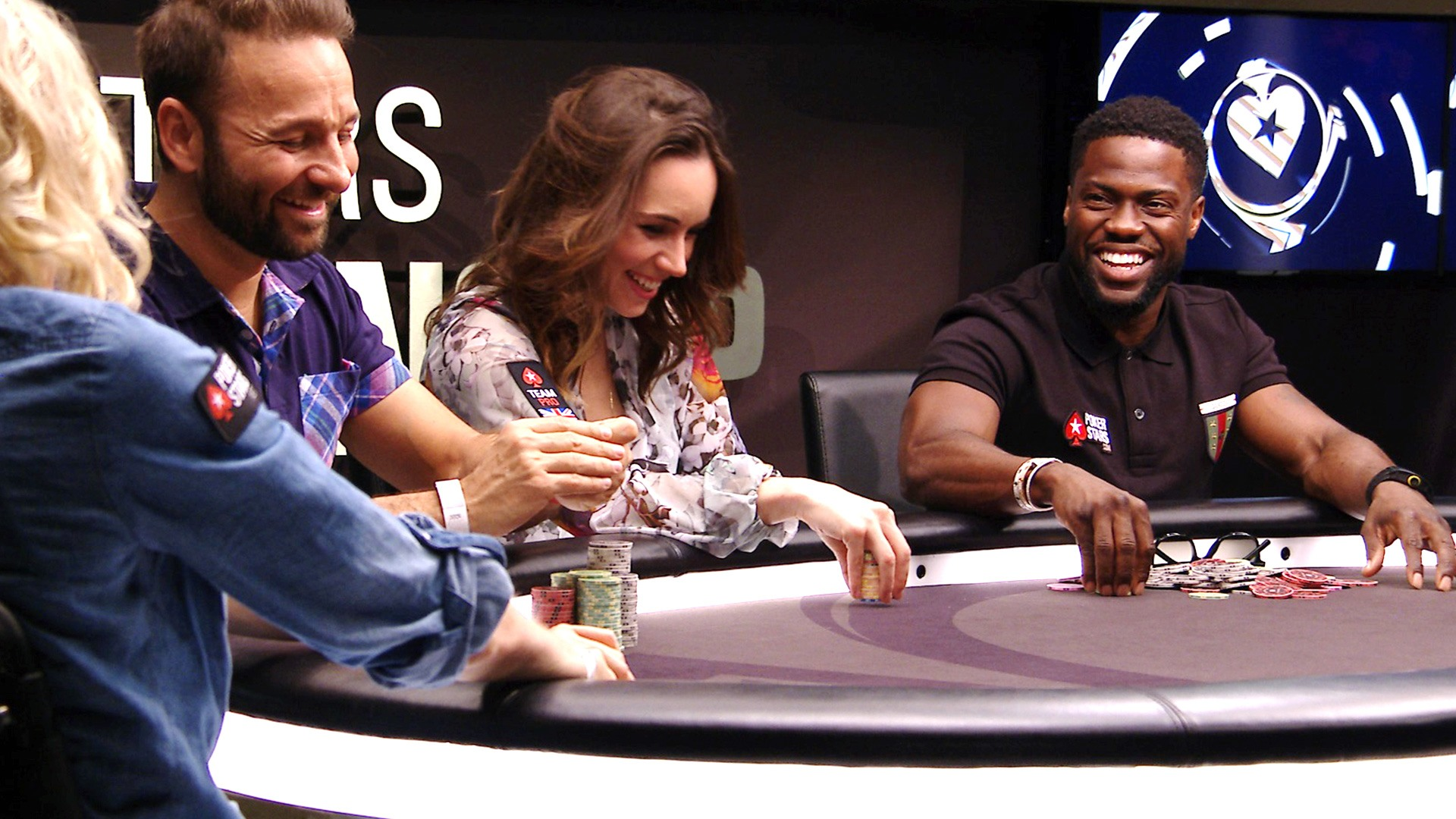 Daniel Negreanu and Liv Boeree