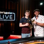 Filipe Oliveira (left) survived being the short stack at the final table to come back and win the Caribbean Poker Party Main Event and a $1.5 million prize. (Image: Partypoker/Flickr)
