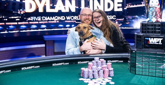 Dylan Linde, WPT Five Diamond champion
