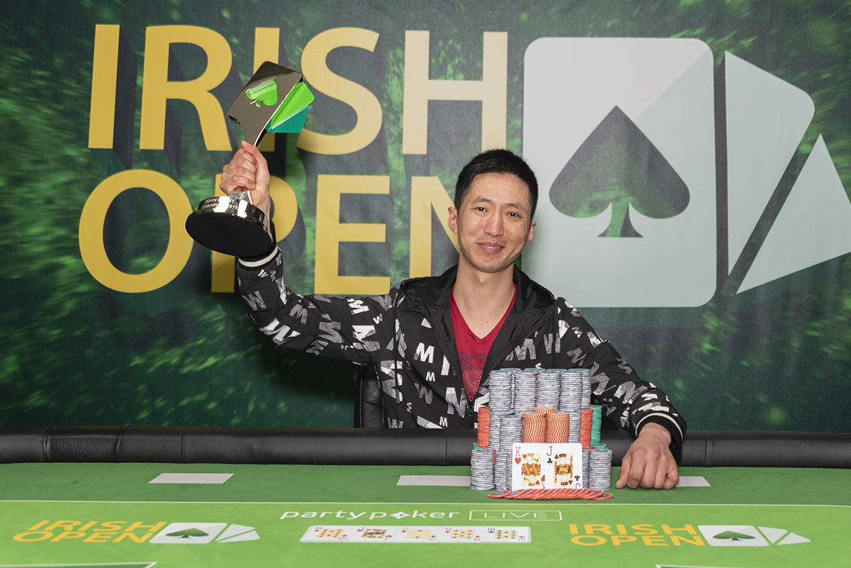 Weijie Zheng Irish Poker Open
