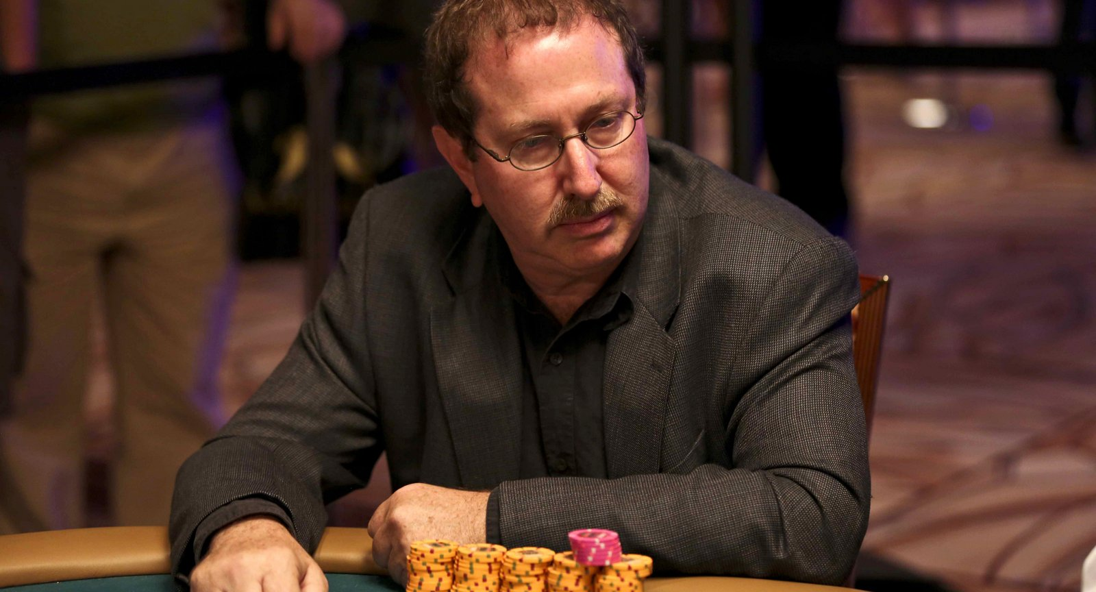 Norman Chad WSOP players