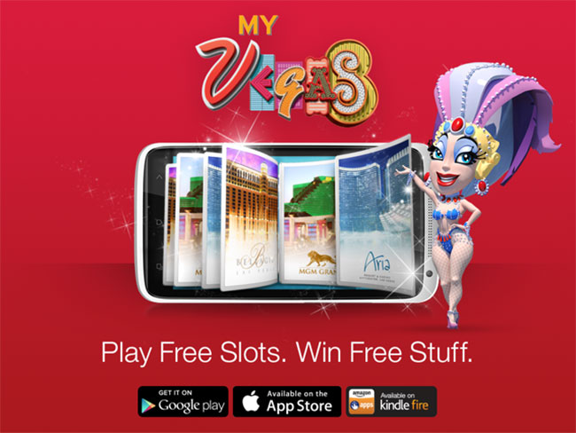 My Vegas slots and blackjack app